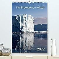 Die Eisberge von Ilulissat (Premium, hochwertiger DIN A2 Wandkalender 2022, Kunstdruck in Hochglanz): Riesige Eisberge liegen vor der Bucht von Ilulisaat die in den verschiedenen Farben sich praesentieren. (Planer, 14 Seiten )