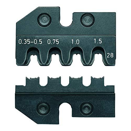 KNIPEX Crimping Dies for connectors of The from 97 49 28 Crimpschablonen für Anschlüsse der AMP Superseal 1.5 Serie von Tyco Electronics