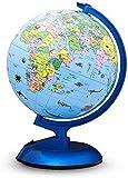Globes du Monde pour Enfants - Globe terrestre éducatif Avec Support Bureau pour adultes Globes géographiques Découverte Globe terrestre Jouet éducatif - Jouet d'apprentissage de la géograph
