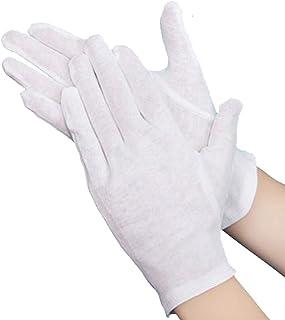 PROMEDIX綿手袋 純綿100% 通気性 コットン手袋 10双組 (M)