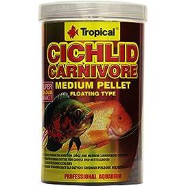 Tropical Cichlid Carnivore Medium Pellet
