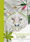 Mystérieuse jungle - 20 cartes postales à colorier anti-stress