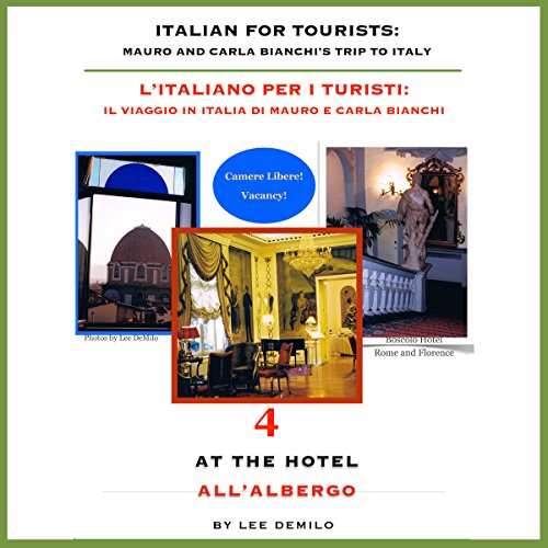 Italian for Tourists Fourth Lesson: At the Hotel audiobook cover art