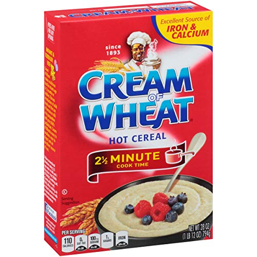 Cream of Wheat Stove Top Hot Cereal Original 2 1/2 Minute Cook Time 28 Ounce Pack of 12