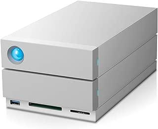 LaCie 萊斯2big Quadra(2?x 4TB)Dual FireWire 800 + USB 3.0專業2盤位移動硬盤,7200?RPM 桌面 RAID,適用于PC和MAC