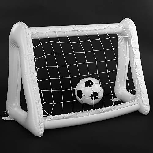 Zheng Aufblasbares Fußball-Spielset für drinnen und draußen, für Kinder
