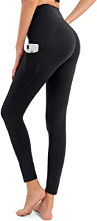 BOSTANTEN High Waist Yoga Pants with Pockets Tummy Control Workout Leggings for Women