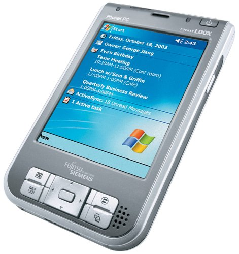 Fujitsu Siemens Pocket Loox 720 BTWL Pocket PC 128 MB Bluetooth und WLAN
