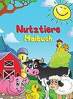 Nutztiere: Malbuch