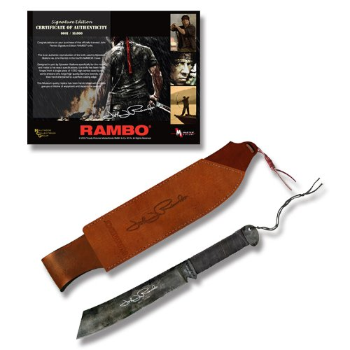 Rambo IV Knife Machete Signature Edition Officially Licensed From Latest Rambo Movie