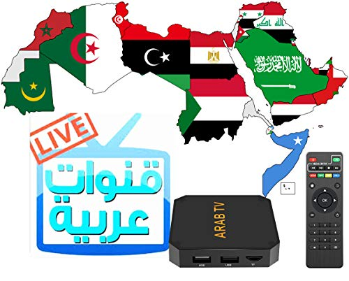 Arab TV New Year Updated TV Box Released with More Channels and Movies