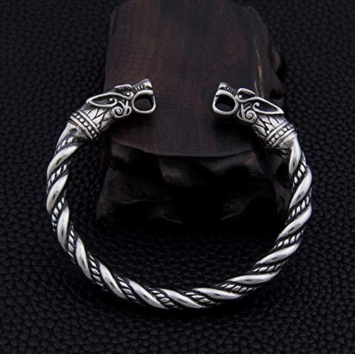 Vikings Wikinger Armreif aus Edelstahl