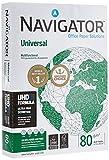 Navigator Universal - Papel multiusos para impresora 500 hojas A4 80gr