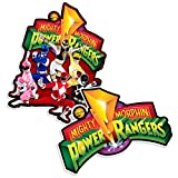 Popfunk Power Rangers Morphin' Time and Logo Collectible Stickers