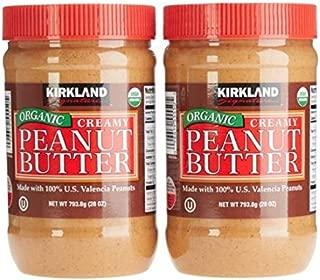 Kirkland Signature Organic Peanut Butter 2Count, 28 Oz