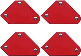 4PCS/Set Welding Locator Magnet Welder Positioner 45 90 135 Power Tool Accessories Soldering Fixture Magnetic Welding Holder