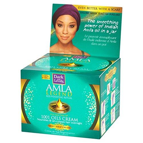 Dark & Lovely – Amla Legend 1001 Huiles crema de noche regeneradora – 150 ml