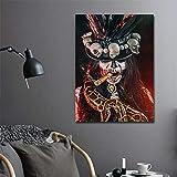 TYLPK Impresión en Lienzo Imagen Resumen Gente Arte de la Pared Cartel en Lienzo Hogar Sala de Estar Decoración de la habitación de Vacaciones A6 70x100cm