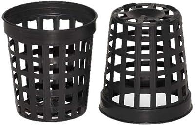 100 1.75 Inch Net Slit Pots for Hydroponic Aeroponic Use