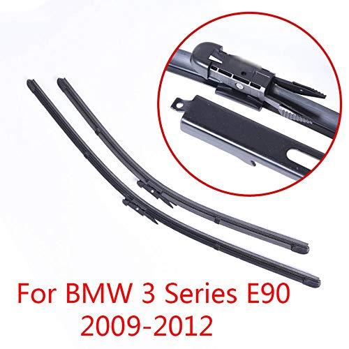 WBMKH Accessori per Auto Spazzole tergicristallo in Gomma Morbida per Parabrezza, per BMW Serie 3 E90 2009 2010 2011 2012