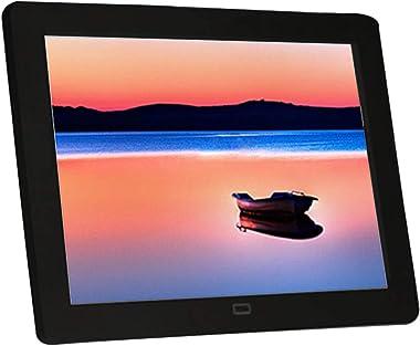 Huluda Digital Photo Frame 8 Inch Picture Frame 1024x768 TN Screen Remote Controler