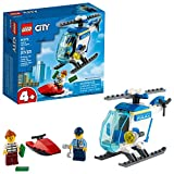 LEGO City Police Helicopter Building Kit; Cool Police Helicopter Toy 60275, New 2021 (51 Pieces)