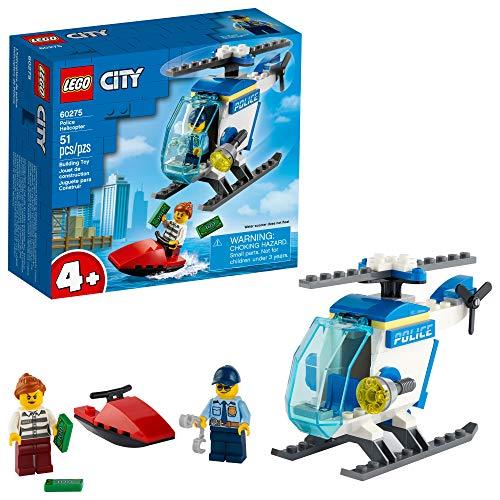 60275 LEGO® City Helicóptero da Polícia; Kit de Construção (51 peças)