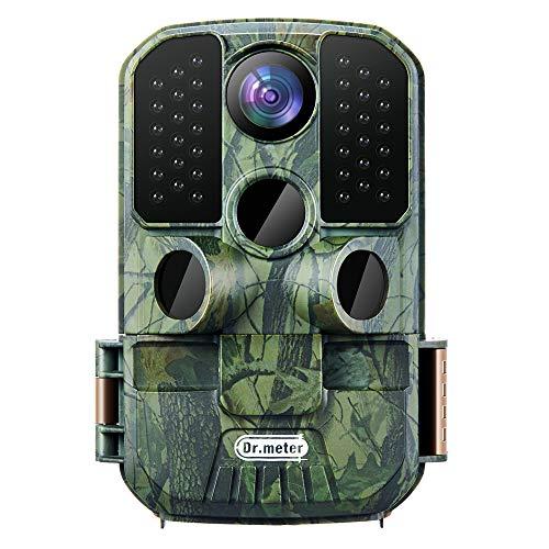 Dr.meter Wildlife Hunting Camera 24MP 1080P HD Trail Game Camera IP66 Waterproof...