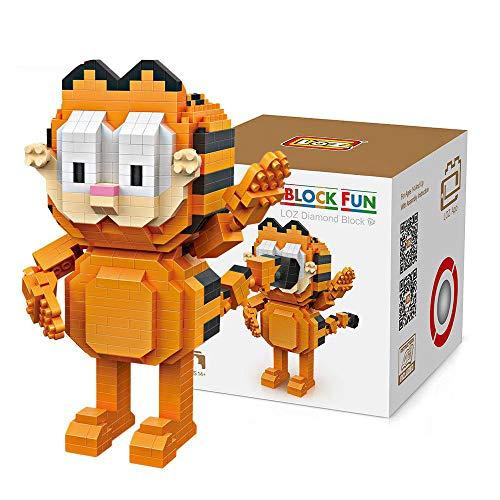 Outletdelocio. LOZ 9758. Kit de construccion miniaturizada. Garfield. 630 Piezas