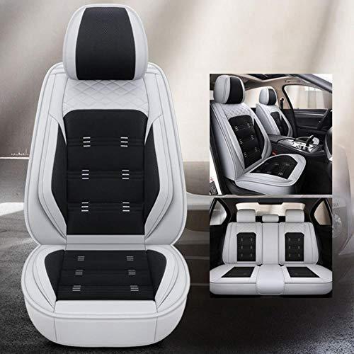 DSGHH Fundas Asientos Coche Universales para Ford Todos Los Modelos Focus Fiesta Ranger Kuga Mondeo Fusion Explorer S-MAX Estándar Gris