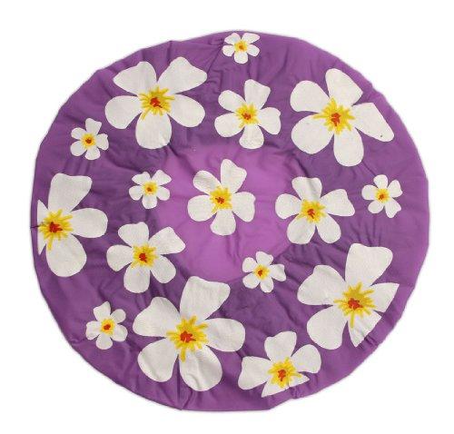 Bonnet de douche - Motif floral