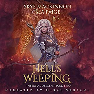 Hell's Weeping: A Retelling of Dante's Inferno     Infernal Descent, Book 2              By:                                                                                                                                 Skye MacKinnon,                                                                                        Bea Paige                               Narrated by:                                                                                                                                 Hiral Varsani                      Length: 3 hrs and 38 mins     Not rated yet     Overall 0.0