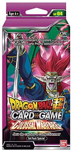 Dragon Ball Super Card Game : Set Pack Spécial Série 4 Colossal Warefare - Version Francaise