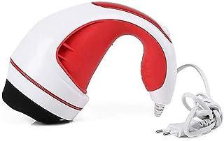 MSF Masajeadores eléctricos De mano masajeador eléctrico de la máquina anti-grasa de la máquina de infrarrojos, 28W (Color : Red)