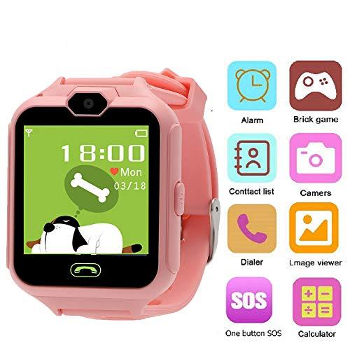 Hangang telefoonhorloge, Kid Smartwatch camera spel touchscreen speelgoed cool watch, super multifunctioneel spel kinderen watch beste cadeau voor meisjes jongens kinderen