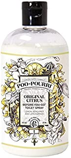 PooPourri BeforeYouGo Toilet Spray 16Ounce Refill Bottle, Original Scent