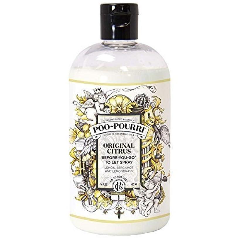 Poo-Pourri Before-You-Go Toilet Spray 16-Ounce Refill Bottle, Original Scent