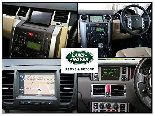 Land Rover Discovery 3, Range Rover, Range Rover Sport, 2017 Mapa DE NAVEGACIÓN por SATÉLITE