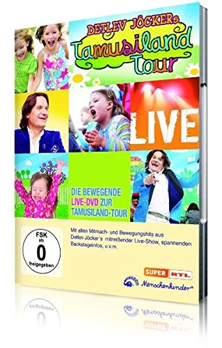 Detlev Jöckers Tamusiland-Tour Live, 1 DVD
