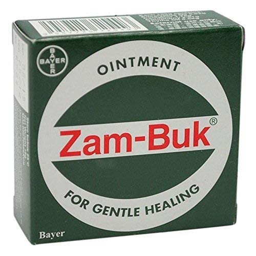 Singapore ORIGINAL 25g ZAM-BUK HERBAL OINTMENT BALM INSECT MOSQUITO BITES PAIN RELIFF