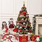 SRBI 3-7ft Pre-Lit Fiber Optic Artificial Christmas Tree Decoration LED Multicolor Lights St