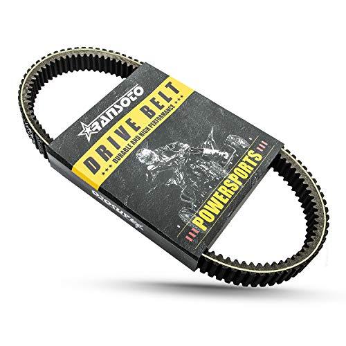 Carbon Drive Belt 19G3982 Compatible with 2007-2020 Polaris Sportsman 450 500 570 800 Ranger 500 RZR 800, Replaces 3211113