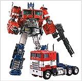 Figure di Transformers Capolavoro Optimus Prime Actions , Giocattoli deformabili, modelli di macchine in lega