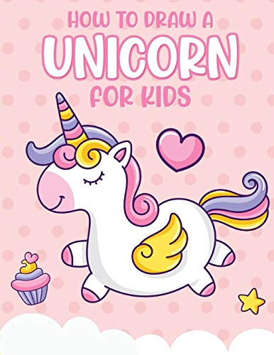 How To Draw A Unicorn For Kids: Learn To Draw | Easy Step By Step | Drawing Grid | Crafts and Games