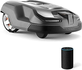 YQZ El cortacésped robótico Inteligente, el cortacésped Inteligente de Carga, el Modo silencioso, sin Necesidad de Bolsa, se Puede iniciar rápidamente Mediante un Comando de Voz