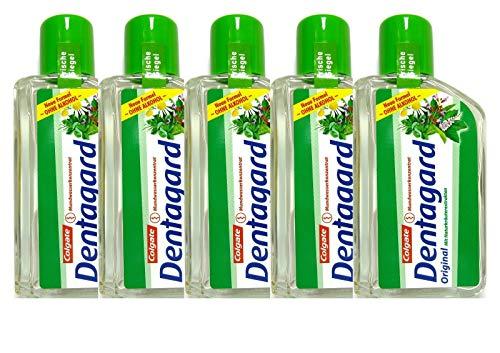 5x Dentagard Original Mundwasserkonzentrat 75ml Naturkräuterextrakt Ohne Alkohol