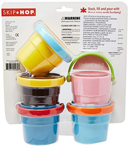 Apilar y Verter Cubos  para Ba/ño Skip Hop Zoo 3080