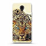 FUBAODA für Huawei Ascend Y635 Hülle, Cartoon Owl Tigger Lion Künstlerische Malerei-Reihe TPU Hülle Schutzhülle Silikon Hülle für Huawei Ascend Y635