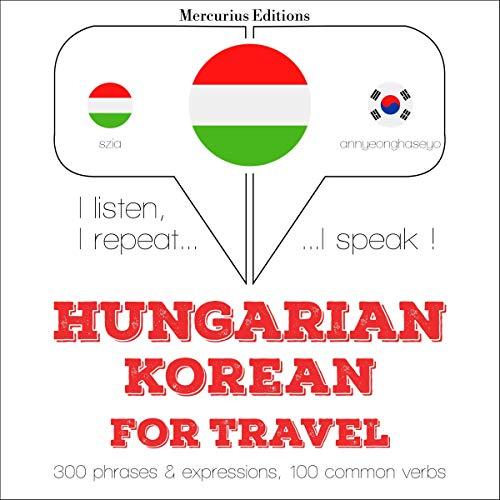 Hungarian – Korean. For travel cover art