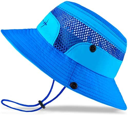 Baby Sun Hat Toddler Sun Hat Kids Breathable Bucket Sun Protection Hat Adjustable Stay on Chin product image